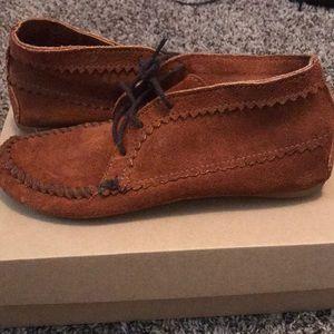 Minnetonka Shoes - Minnetonka Suede Ankle Boot